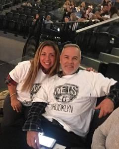 Fredy attended Brooklyn Nets vs. Atlanta Hawks - NBA on Oct 22nd 2017 via VetTix