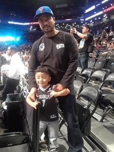 Michael attended Brooklyn Nets vs. Atlanta Hawks - NBA on Oct 22nd 2017 via VetTix