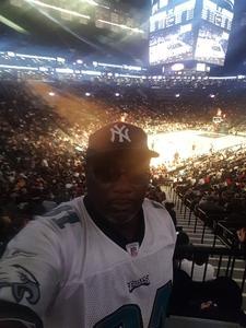 Rudolph attended Brooklyn Nets vs. Atlanta Hawks - NBA on Oct 22nd 2017 via VetTix
