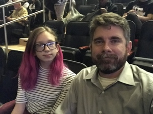 Jeffrey attended Katy Perry Witness World Tour on Oct 2nd 2017 via VetTix