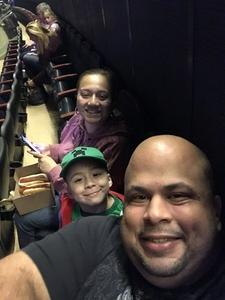 Brian attended Katy Perry Witness World Tour on Oct 2nd 2017 via VetTix