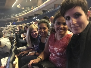 Isra attended Katy Perry Witness World Tour on Oct 2nd 2017 via VetTix