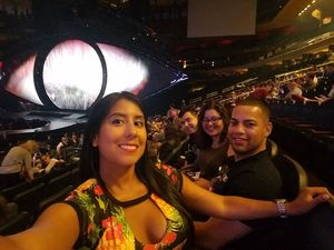 Raymon attended Katy Perry Witness World Tour on Oct 2nd 2017 via VetTix