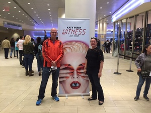 Jason attended Katy Perry Witness World Tour on Oct 2nd 2017 via VetTix