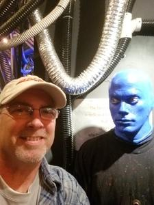 Brian attended Blue Man Group - Chicago on Oct 15th 2017 via VetTix