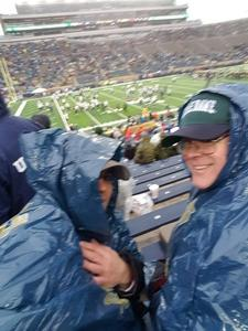 Kenneth attended Notre Dame Fighting Irish vs. Navy - NCAA Football on Nov 18th 2017 via VetTix