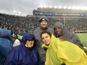 Earl attended Notre Dame Fighting Irish vs. Navy - NCAA Football on Nov 18th 2017 via VetTix