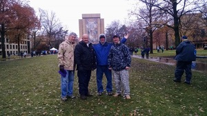 Christopher attended Notre Dame Fighting Irish vs. Navy - NCAA Football on Nov 18th 2017 via VetTix