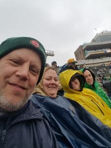 Kevin attended Notre Dame Fighting Irish vs. Navy - NCAA Football on Nov 18th 2017 via VetTix