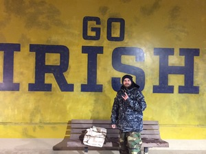 Derek attended Notre Dame Fighting Irish vs. Navy - NCAA Football on Nov 18th 2017 via VetTix