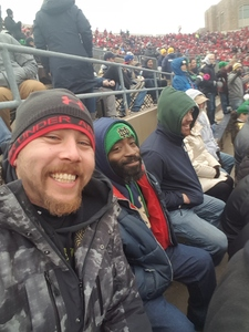 kevan attended Notre Dame Fighting Irish vs. Navy - NCAA Football on Nov 18th 2017 via VetTix