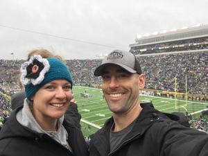 Ryan attended Notre Dame Fighting Irish vs. Wake Forest - NCAA Football - Military Appreciation Game on Nov 4th 2017 via VetTix