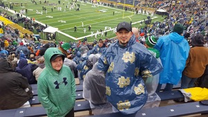 Brian attended Notre Dame Fighting Irish vs. Wake Forest - NCAA Football - Military Appreciation Game on Nov 4th 2017 via VetTix