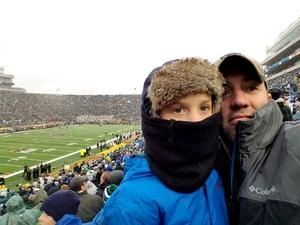 Nathan attended Notre Dame Fighting Irish vs. Wake Forest - NCAA Football - Military Appreciation Game on Nov 4th 2017 via VetTix