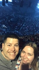 chris attended Katy Perry: Witness the Tour With Noah Cyrus on Oct 12th 2017 via VetTix