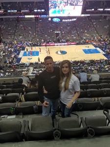 Corwin attended Dallas Mavericks vs. Chicago Bulls - NBA - Preseason! on Oct 4th 2017 via VetTix