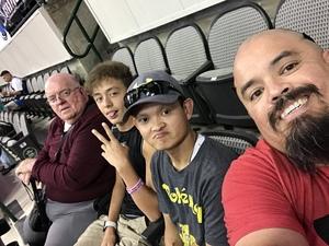 William attended Dallas Mavericks vs. Chicago Bulls - NBA - Preseason! on Oct 4th 2017 via VetTix