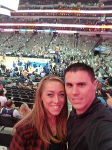 Nolan attended Dallas Mavericks vs. Chicago Bulls - NBA - Preseason! on Oct 4th 2017 via VetTix