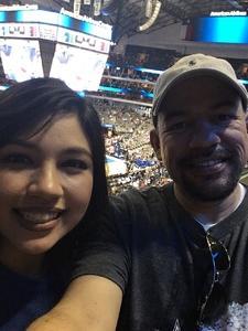 Carlos attended Dallas Mavericks vs. Chicago Bulls - NBA - Preseason! on Oct 4th 2017 via VetTix