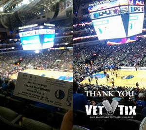 Tony V. attended Dallas Mavericks vs. Chicago Bulls - NBA - Preseason! on Oct 4th 2017 via VetTix