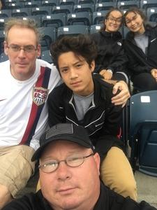 Richard attended Army vs. Navy Cup Vl - Collegiate Soccer on Oct 15th 2017 via VetTix