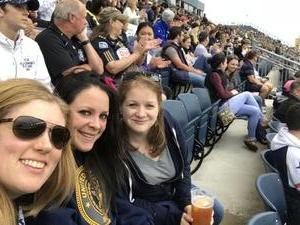 Jennifer attended Army vs. Navy Cup Vl - Collegiate Soccer on Oct 15th 2017 via VetTix