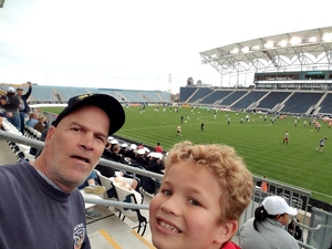 Joe attended Army vs. Navy Cup Vl - Collegiate Soccer on Oct 15th 2017 via VetTix