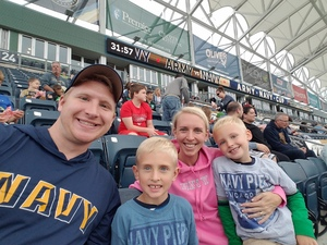 Dan attended Army vs. Navy Cup Vl - Collegiate Soccer on Oct 15th 2017 via VetTix