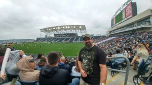 Dave Phillips attended Army vs. Navy Cup Vl - Collegiate Soccer on Oct 15th 2017 via VetTix