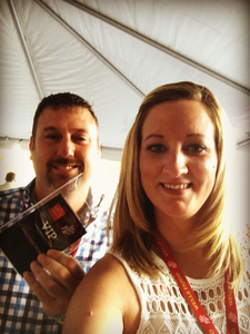 Cynthia J attended Zac Brown Band With Special Guest Darrell Scott - Wells Fargo VIP Experience on Oct 6th 2017 via VetTix