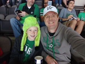Nicholas attended Dallas Stars vs. Colorado Avalanche - NHL on Oct 14th 2017 via VetTix