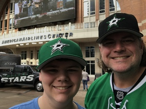 Douglas Novak attended Dallas Stars vs. Colorado Avalanche - NHL on Oct 14th 2017 via VetTix