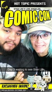 Jamie attended Stan Lee's Los Angeles Comic Con - Tickets Are Good for All 3 Days on Oct 27th 2017 via VetTix