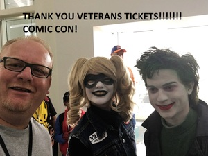Jordan attended Stan Lee's Los Angeles Comic Con - Tickets Are Good for All 3 Days on Oct 27th 2017 via VetTix