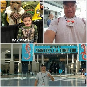 John attended Stan Lee's Los Angeles Comic Con - Tickets Are Good for All 3 Days on Oct 27th 2017 via VetTix