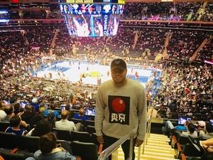 Phillip attended New York Knicks vs. Houston Rockets - Pre-season NBA on Oct 9th 2017 via VetTix