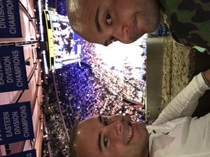 Pawel attended New York Knicks vs. Houston Rockets - Pre-season NBA on Oct 9th 2017 via VetTix
