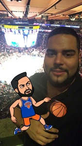 Gabe attended New York Knicks vs. Houston Rockets - Pre-season NBA on Oct 9th 2017 via VetTix