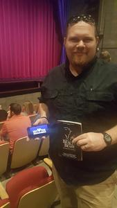 CS attended Disney's Beauty and the Beast on Nov 9th 2017 via VetTix