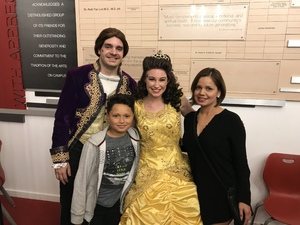 Javier attended Disney's Beauty and the Beast on Nov 9th 2017 via VetTix