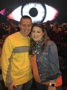 Jamey attended Katy Perry: Witness the Tour on Oct 18th 2017 via VetTix