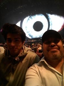 Ascencion attended Katy Perry: Witness the Tour on Oct 18th 2017 via VetTix
