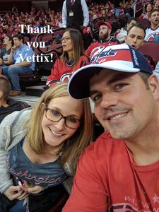 Garry attended New Jersey Devils vs. Washington Capitals - NHL on Oct 13th 2017 via VetTix