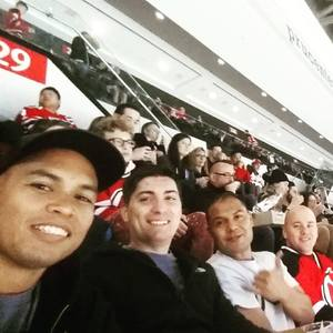 Christopher attended New Jersey Devils vs. Washington Capitals - NHL on Oct 13th 2017 via VetTix