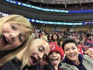 Robert attended New Jersey Devils vs. Washington Capitals - NHL on Oct 13th 2017 via VetTix