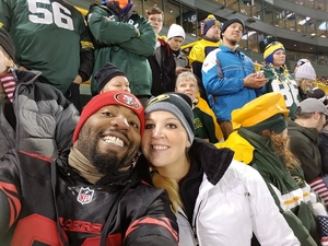 Charles attended Green Bay Packers vs. Detroit Lions - NFL on Nov 6th 2017 via VetTix