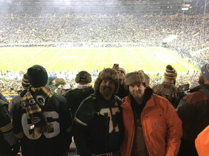 Tim Hershberger attended Green Bay Packers vs. Detroit Lions - NFL on Nov 6th 2017 via VetTix