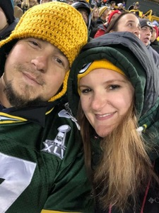 David attended Green Bay Packers vs. Detroit Lions - NFL on Nov 6th 2017 via VetTix