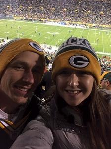 Andrew attended Green Bay Packers vs. Detroit Lions - NFL on Nov 6th 2017 via VetTix
