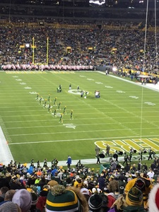 Kevin attended Green Bay Packers vs. Detroit Lions - NFL on Nov 6th 2017 via VetTix